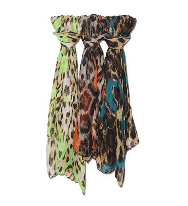 Animal Print Scarf - Various Styles