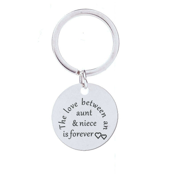 The Love Between an Aunt & Niece - Keyring