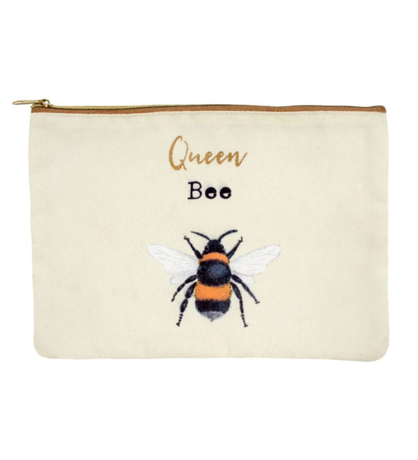 Bee Makeup Pouch 2 Designs