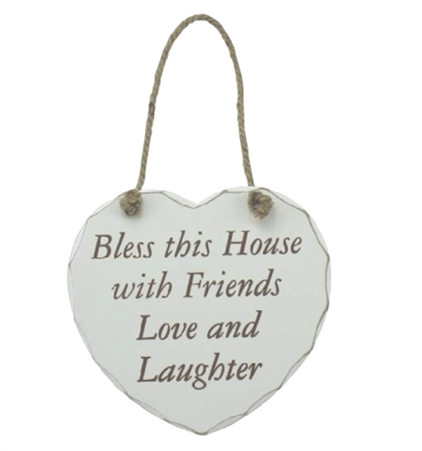 Bless this House - Shabby Chic Plaque