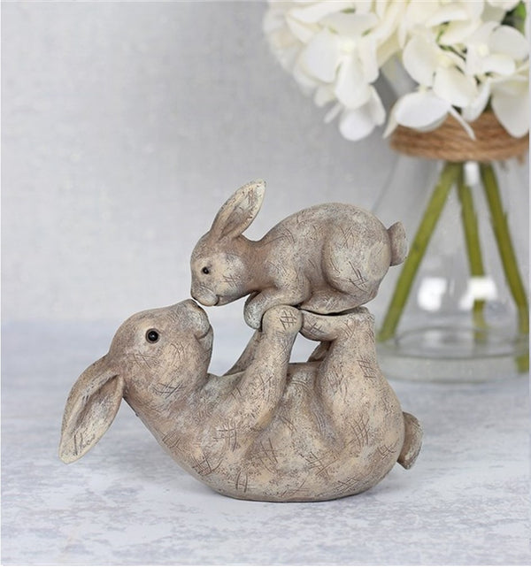 Some Bunny Loves You Parent & Child Ornament