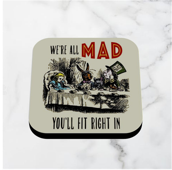 Alice in Wonderland Coasters - Various Designs