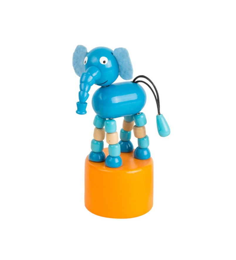 dancing wooden elephant  toy