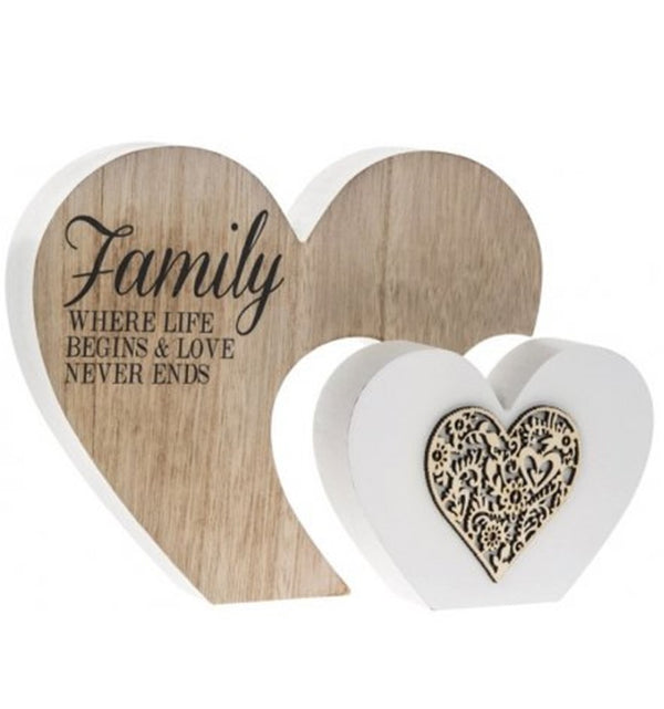 Double Heart Block - Family love never ends