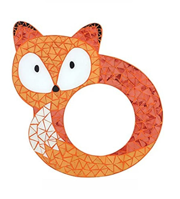 Mosaic Fox Wall Mirror