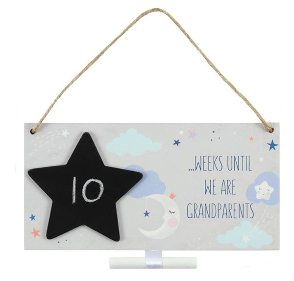Grandparents Countdown Plaque