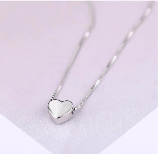 Sterling Silver - Love Heart Necklace