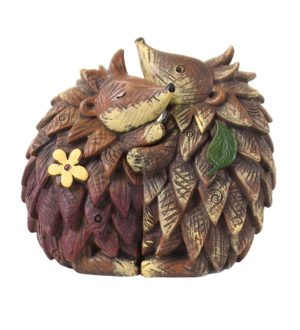 Hedgehog Ornament Pair