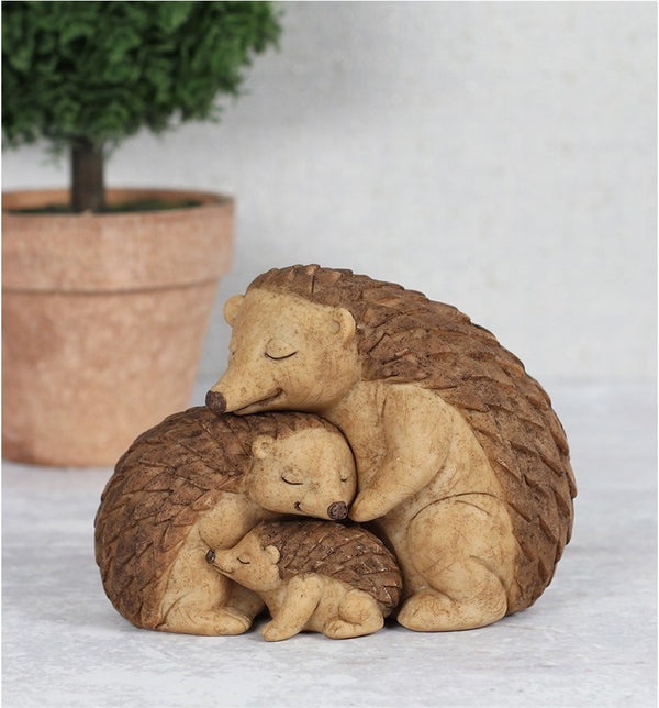 Hedgehog Family Ornament
