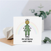 Hero Nurse Personalised Card - Button Head Family