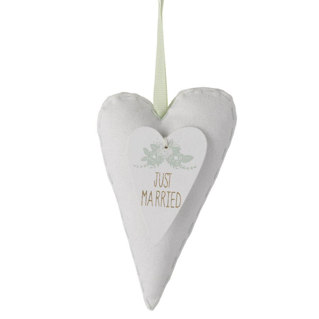 White Fabric - Just Married Heart