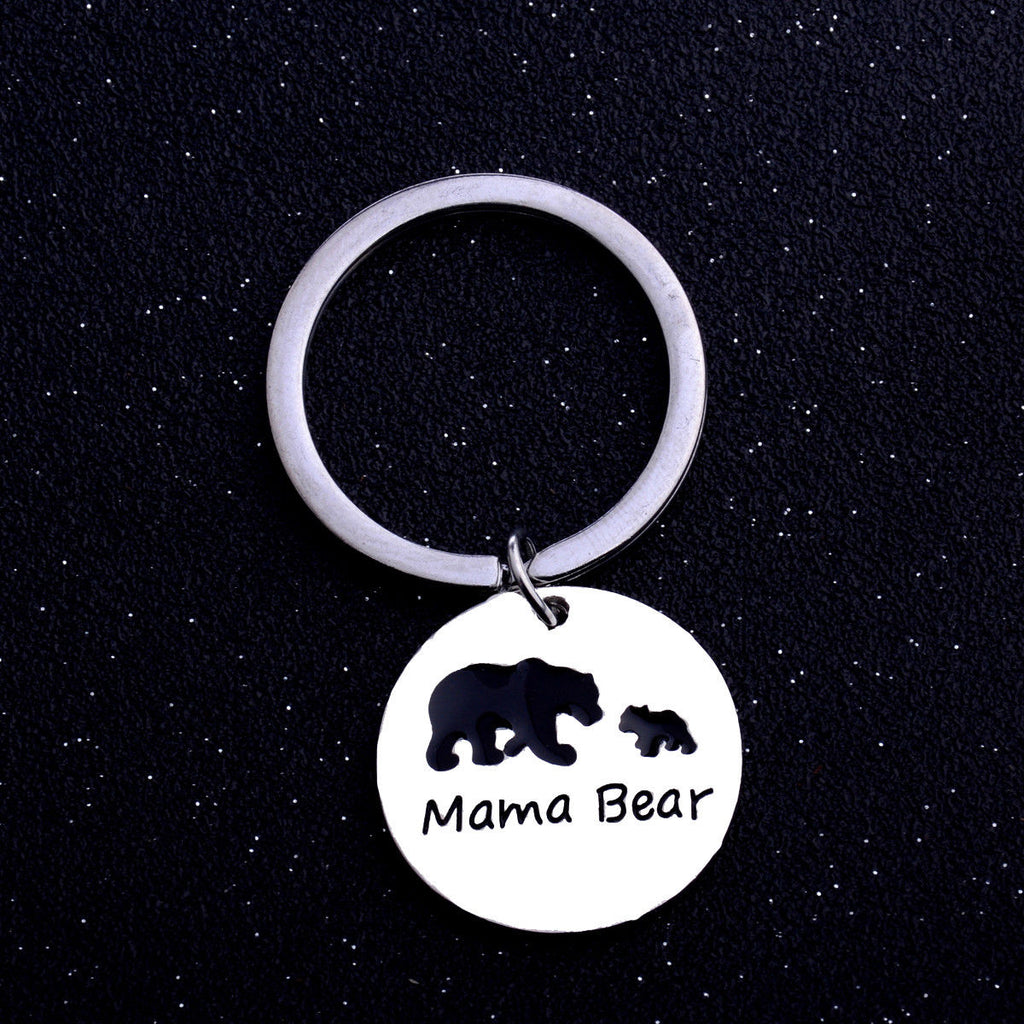 Mama Bear - Mother Keyring, Key Chain Keepsake