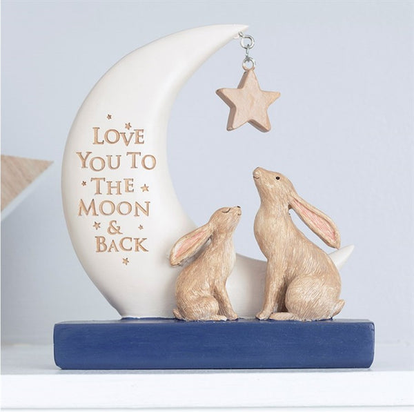 Love you to the Moon & Back Keyring, Key Chain Accessory Gift