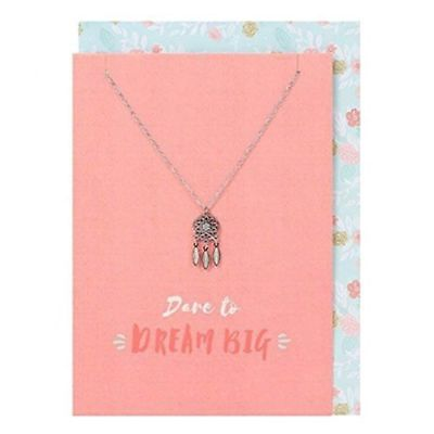 Dare to Dream Big Card & Necklace