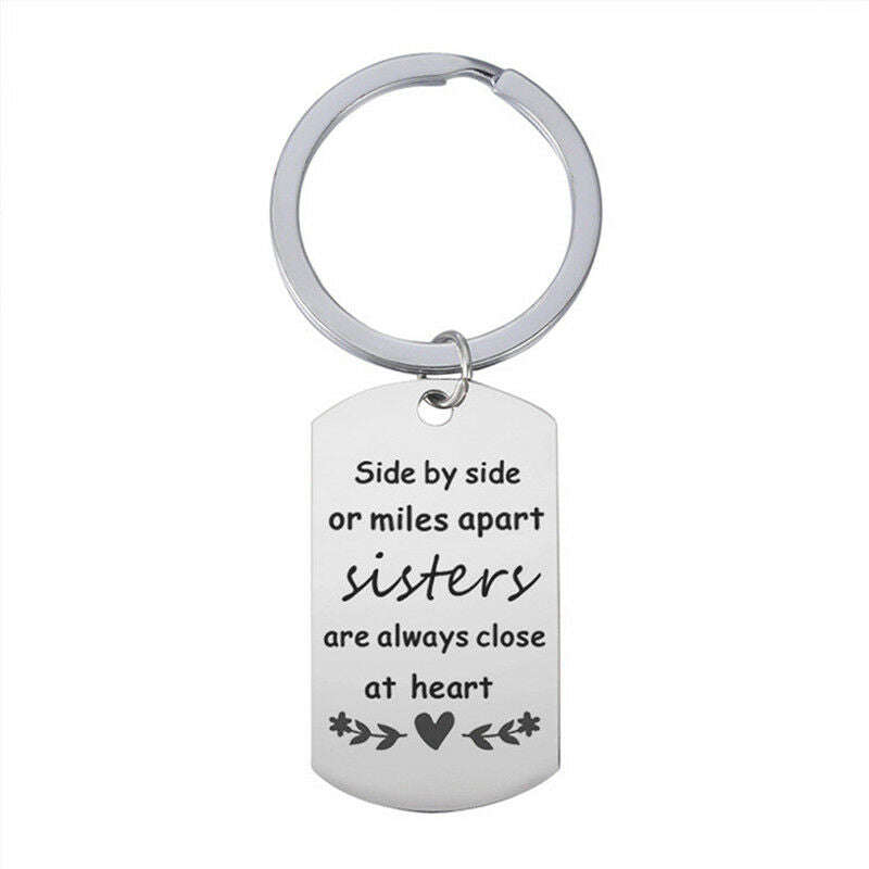 Sister - Close at heart Keyring