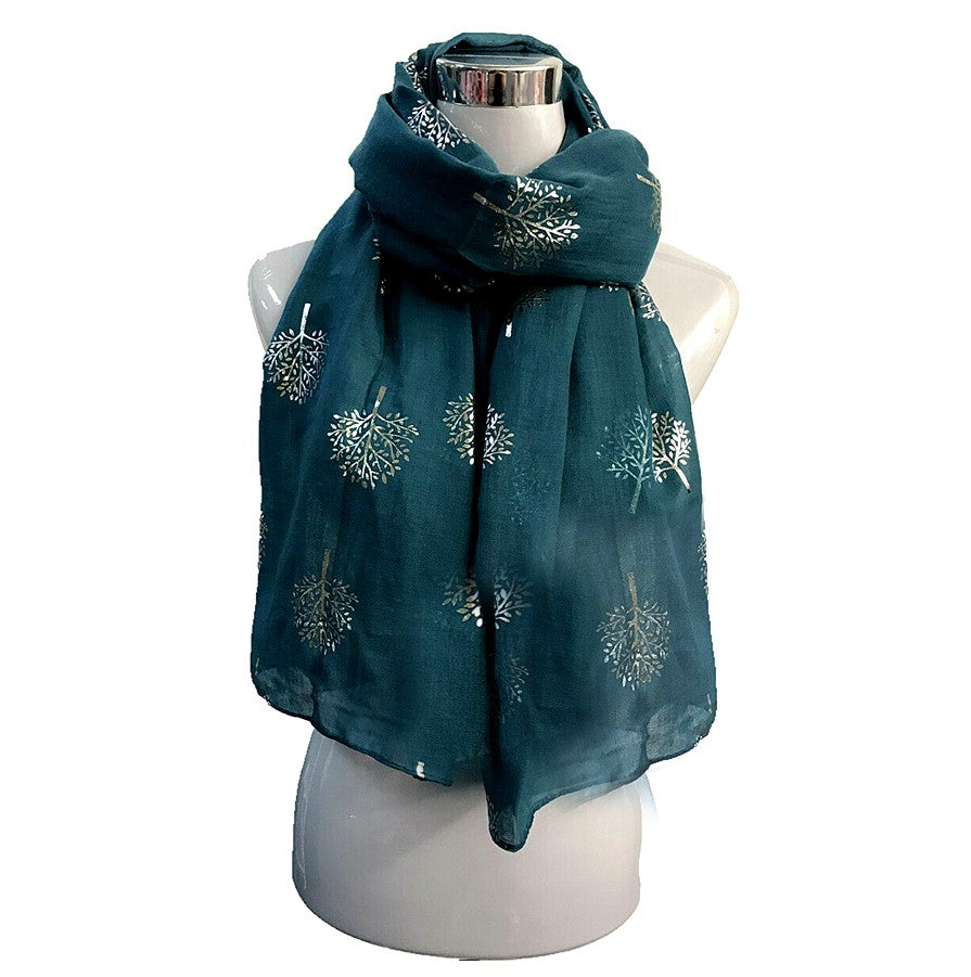 Tree of Life Scarf - Various Colours
