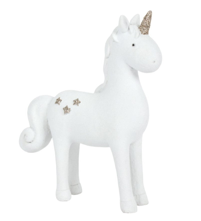 Large Standing Unicorn Ornament