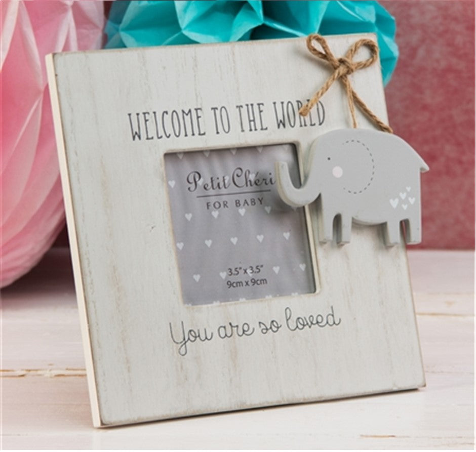 Welcome to the World Photo Frame