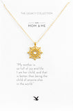 Mom & Me Bond Pendant Gold