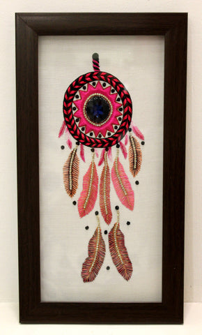 Pink Dream Catcher Frame