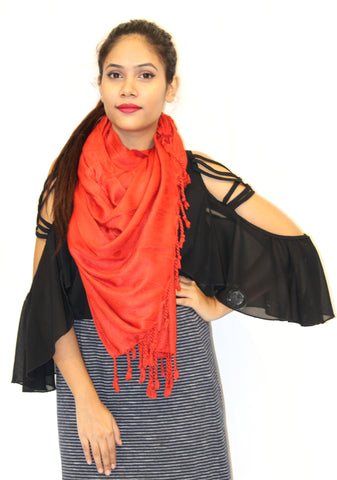 Red Lady Scarf