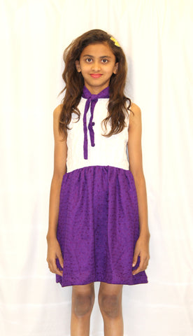 Purple Ripple Frock