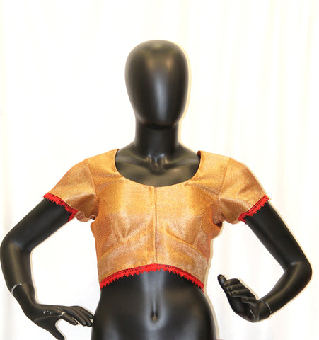 Red Designer Blouse
