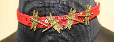 Dragon Flies For Cats & Toy Dogs (Red Collar)