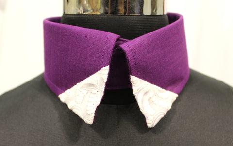 Purple Ripple For Medium & Large Dogs (Velcro Collar)