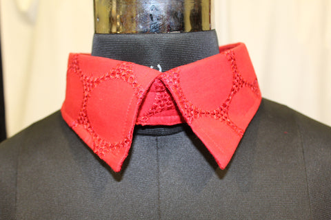 Red Lace For Large Dogs (Velcro Collar)