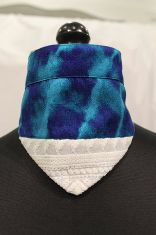 Marble Bandana (Tie Up Collar)