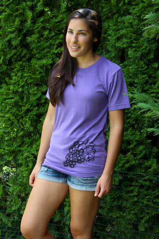Talkative Grape Crew Tee