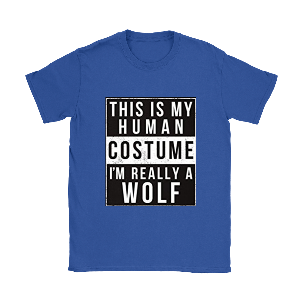 I'm Really A Wolf Funny Shirt/Hoodie