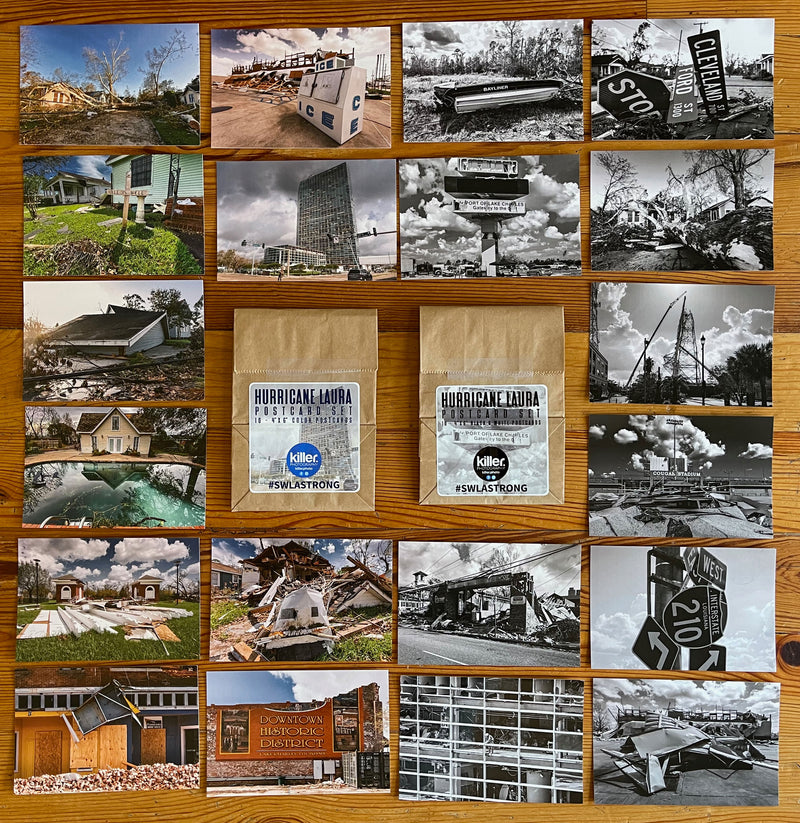 Hurricane Laura - Postcard Set - ShopSWLA
