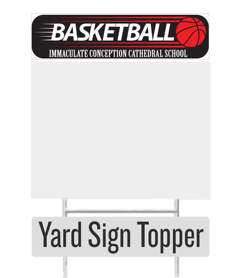 ICCS Backetball Topper