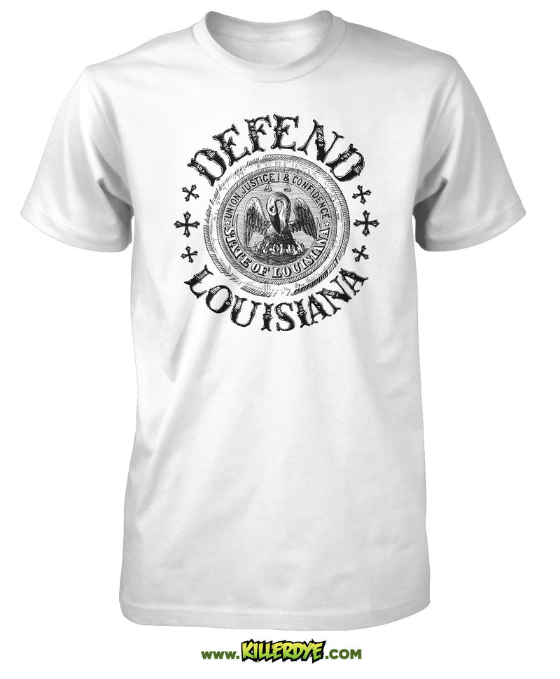 Defend Louisiana T-Shirt - Mens