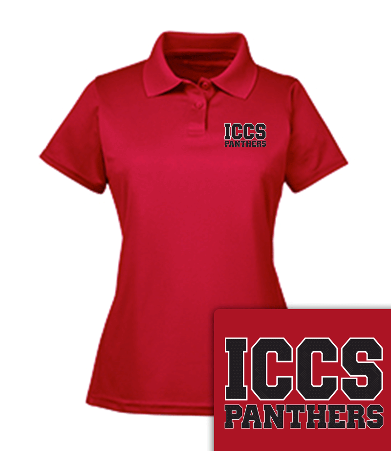 ICCS Woman's Polo Shirt