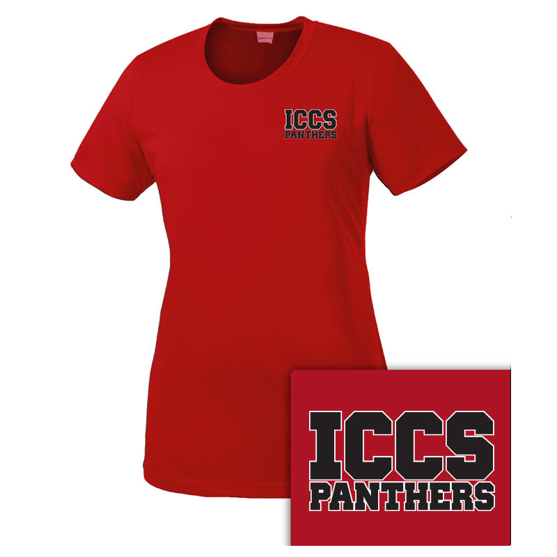 ICCS Woman's Athletic Dri-Fit