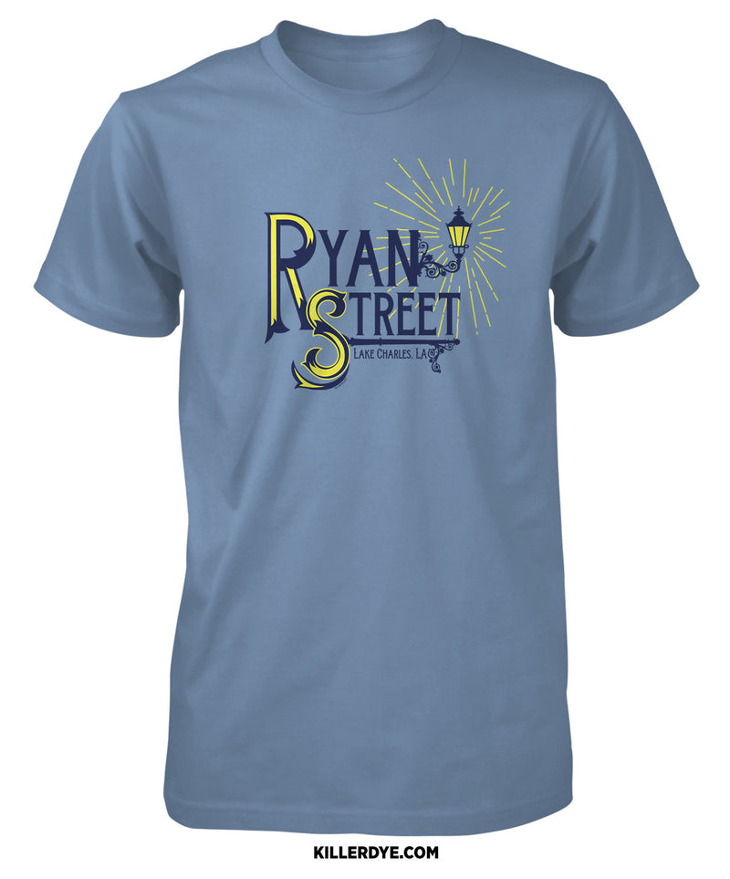 Ryan Street (Lamp Post)- T-Shirt - ShopSWLA