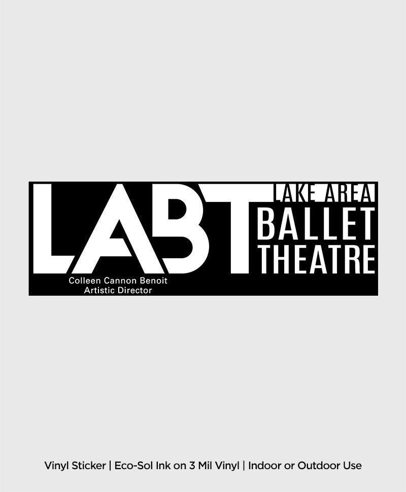 Lake Area Ballet Theatre - Sticker / Decal - ShopSWLA