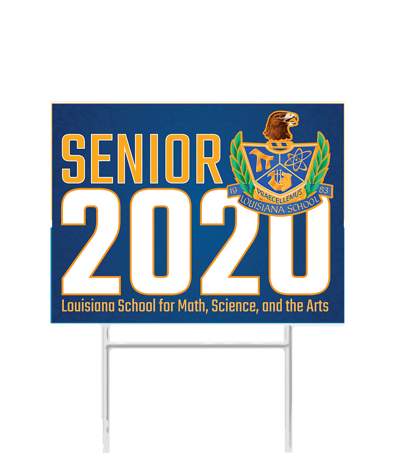 Louisiana School - Senior 2020 Yard Sign