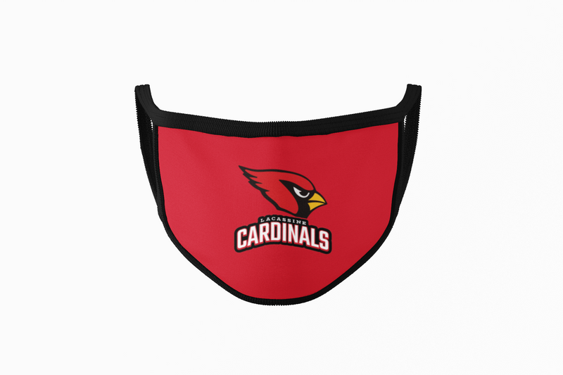 Lacassine Cardinals - Mask