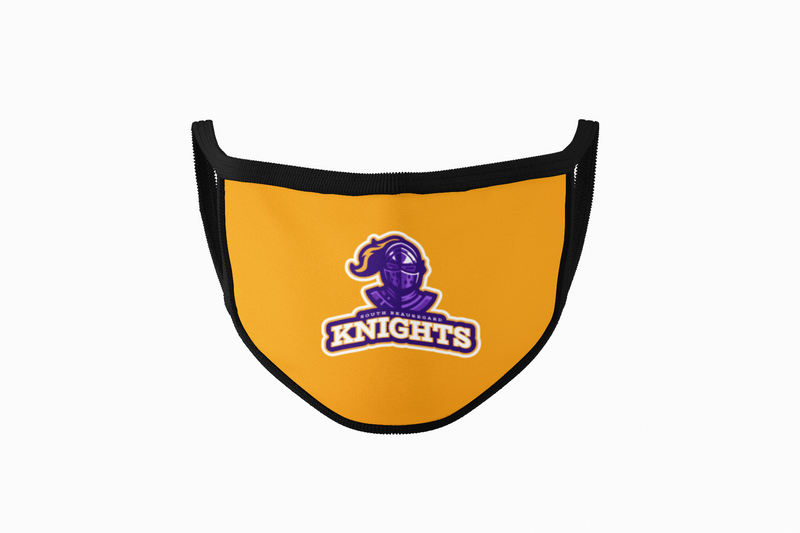 South Beauregard Knights - Mask