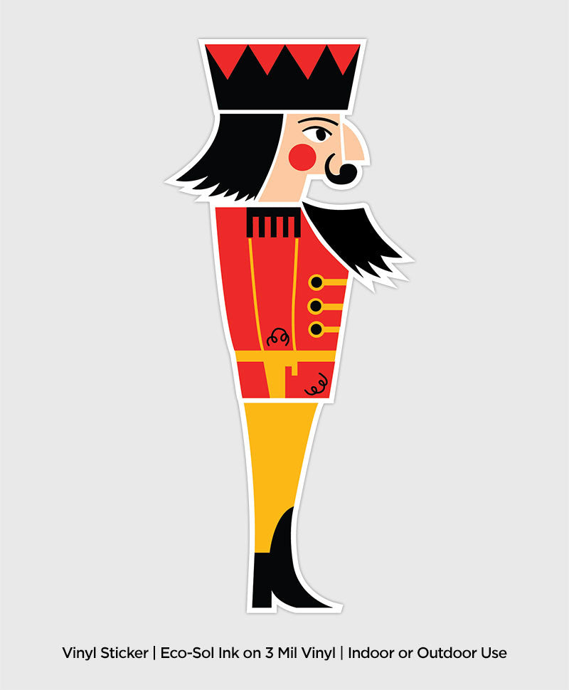 Nutcracker Soldier - Sticker / Decal