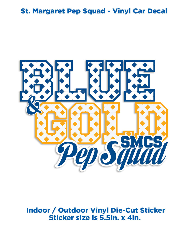 SMCS Pep Squad -Decal