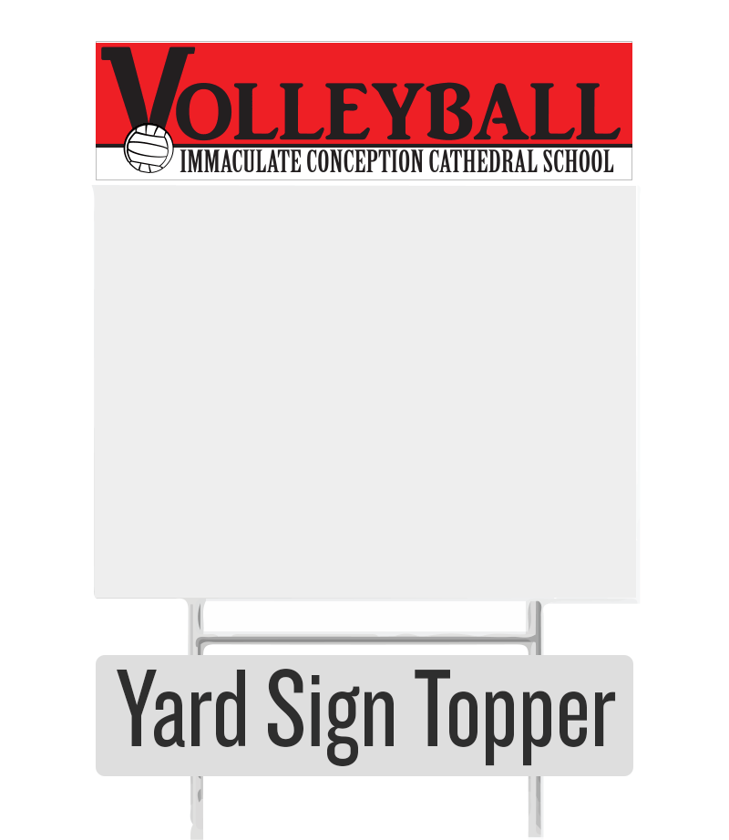 ICCS Volleyball Topper - ShopSWLA