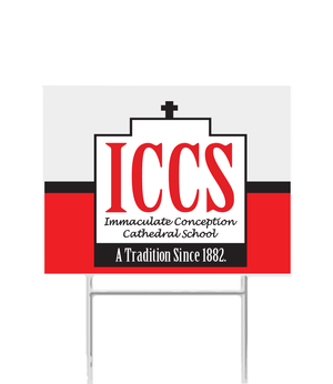 ICCS Yard Sign