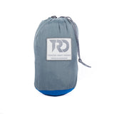 Twisted Double Hammock - Smoke Grey/Blue (Stuff Sack)