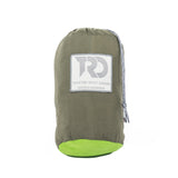 Twisted Double Hammock - Green/Bright Green (Stuff Sack)