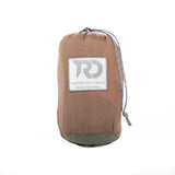 Twisted Double Hammock - Dk Khaki/Green (Stuff Sack)